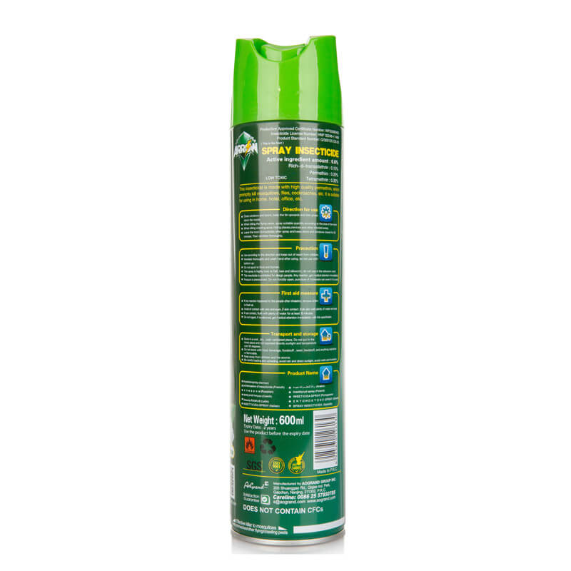 Insecticide Spray Natural Jasmine Fragrance ARROW