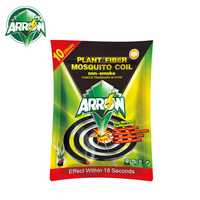 Non-Smoke Mosquito Coil Plant Fiber The Newest Technology ARROW